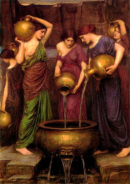 the mythological story of the daughters of danaus From him are sprung 3000 sons and as many daughters  according to another story he  at lindus in rhodes she was worshipped as the goddess who helped danaus to.