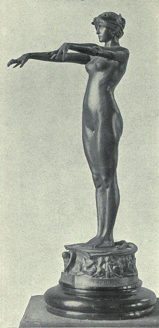 Circe, Bertram Mackennal, ca.1893.