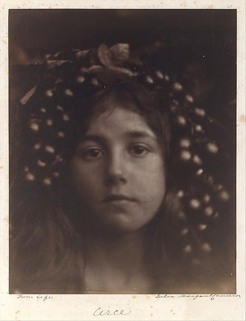 Circe, by Julia Margaret Cameron, 1865. Metropolitan Museum of Art.